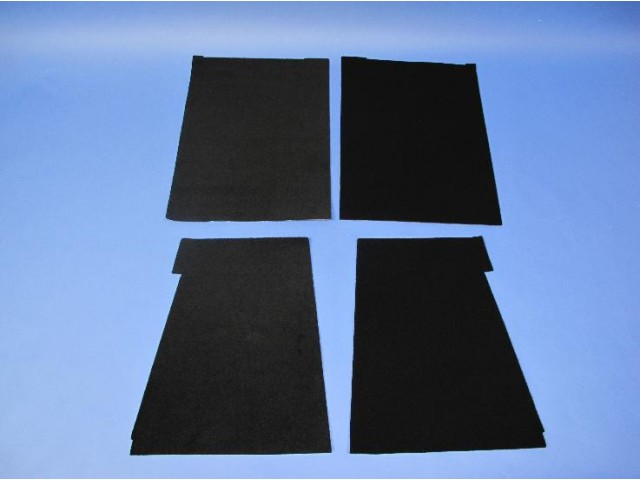 Carpet Set - CSR 175 Standard Dash (Lowered Floor)