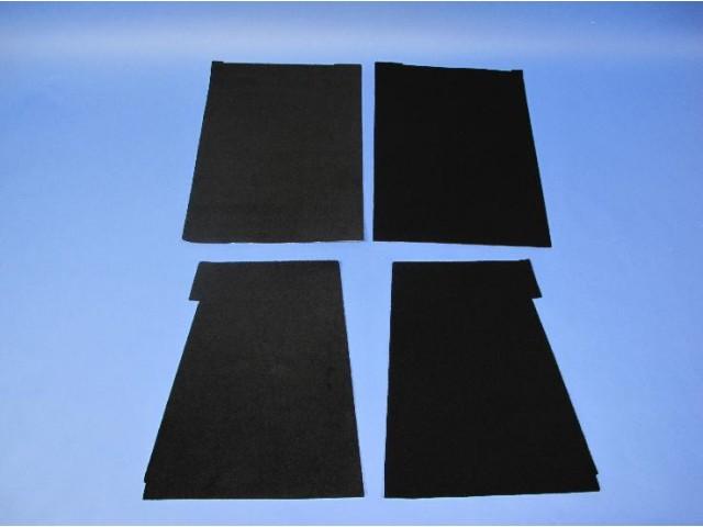 Carpet Set - CSR 175 Standard Dash (Lowered Floor)