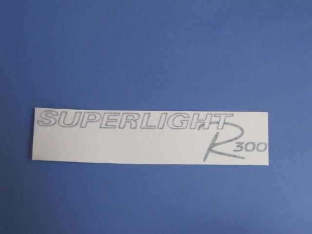Decal - Bonnet - R300 Superlight 2008