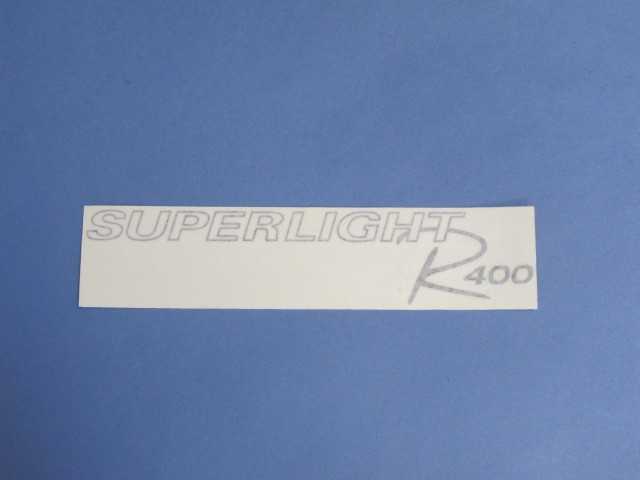 Decal - Bonnet - R400 Superlight 2008