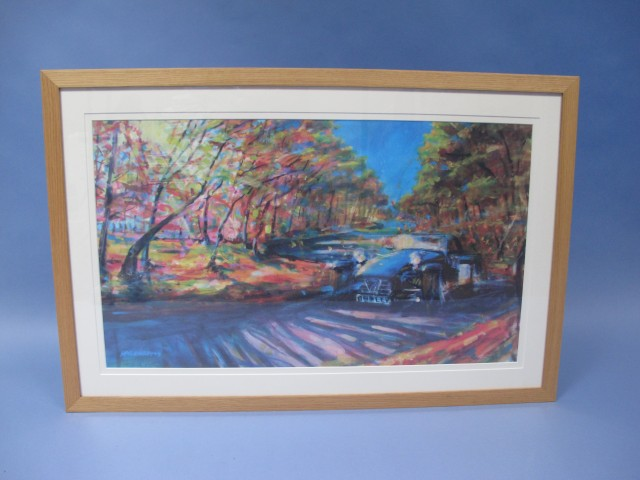 "Caterham Artwork - ""A Breath of Autumnal Air"" 2010 (500 x 850mm)"
