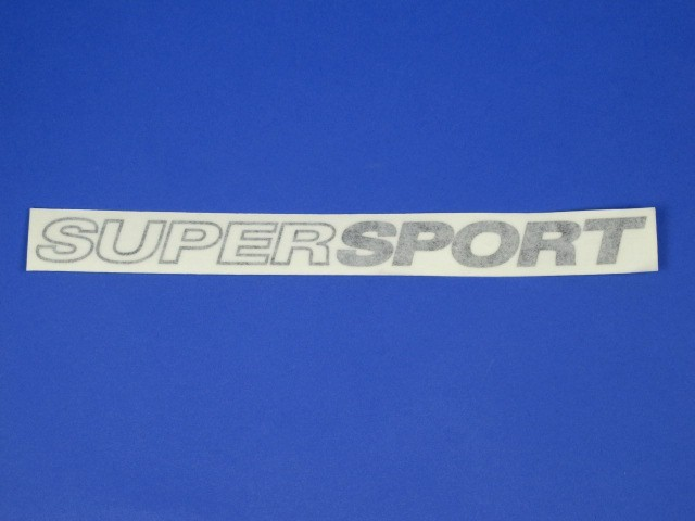 Decal - Supersport - Black
