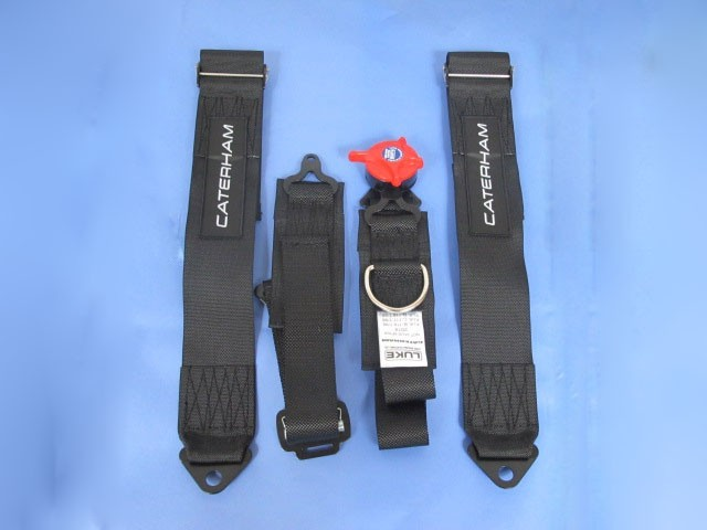 Seatbelt - 4 Point Quick Release Black RH