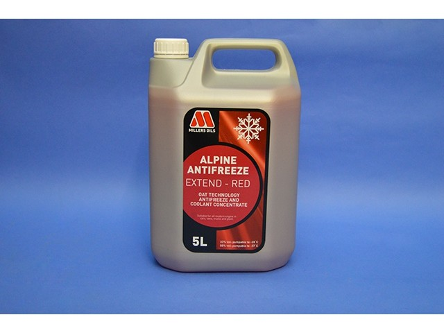 Millers Coolant - 5L - Concentrate