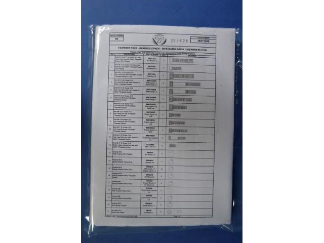 GEARBOX Z PACK - 5SPD MAZDA G/