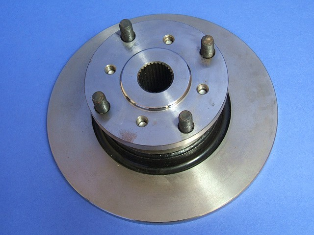 rear flange  brake disc assembly