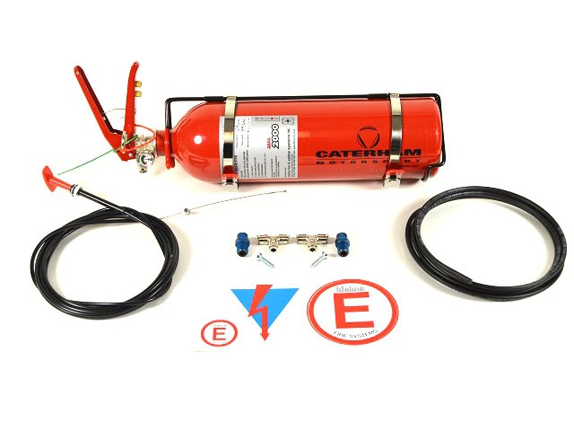 Fire Extinguisher - 2.25AFFF - Mechanical Plumbed-in Type