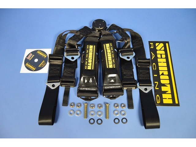 HARNESS 6 POINT RACE SCHROTH LH KIT INCL FITTINGS