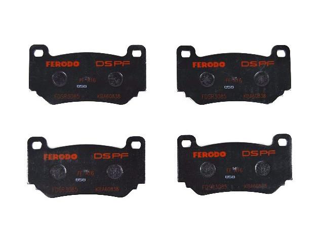 Brake Pads - 4 Pot Calipers - Road/Track
