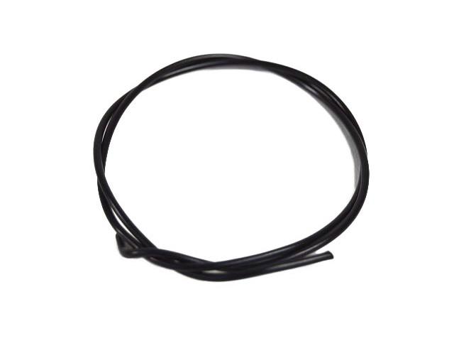 Cable - Black - 1mm (per metre)