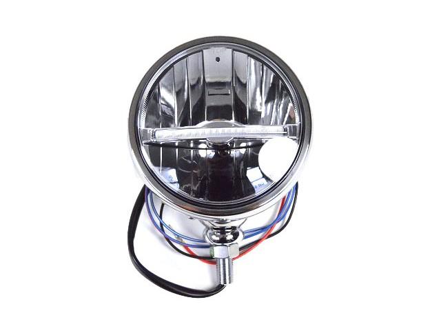 HEADLIGHT SILVER LED RHD CARS 5.3/4 DIAMETER