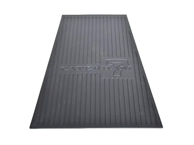 Rubber Floormat - RH - DD/Universal - Caterham 7 Logo