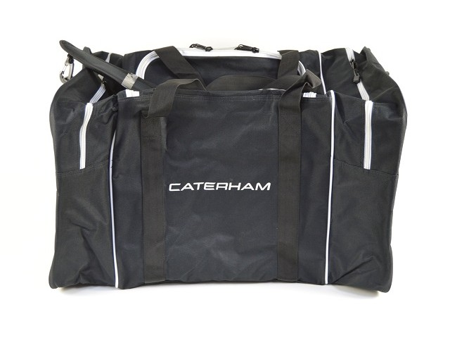 KIT BAG - BLACK WITH WHITE