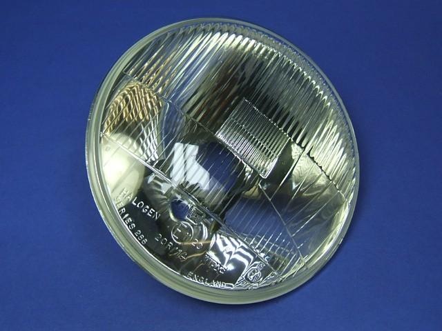 Wipac Headlight - LHD - Halogen - Glass Lens