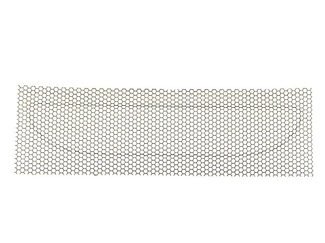 GRILLE NOSECONE LOWER HEX MESH