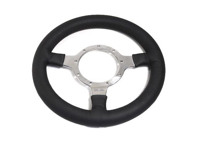 "Steering Wheel - 11"" Polished Spokes - Motolita"
