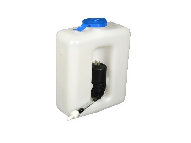WINDSCREEN WASHER BOTTLE AND PUMP