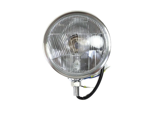 "Headlight Unit - Chrome 5 3/4"" RHD Lens"