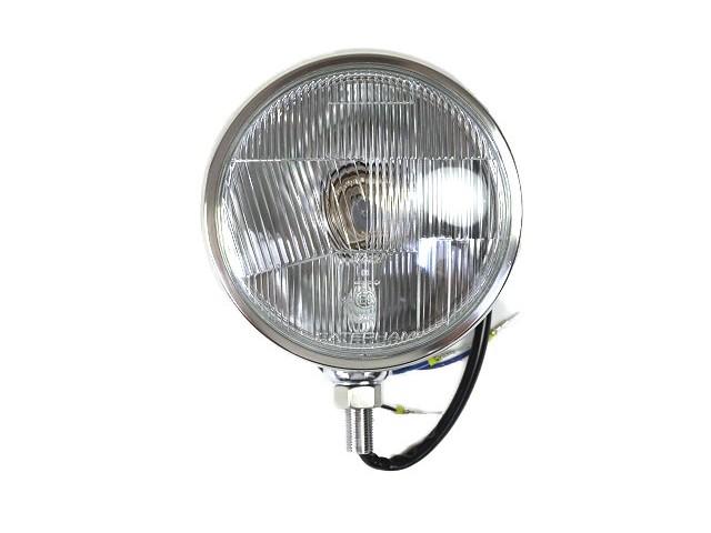 "Headlight Unit - Chrome 5 3/4"" RHD Lens"