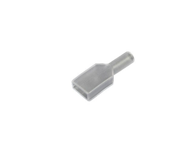 Transparent PVC Sleeve - 3/8'' (Pack of 10)
