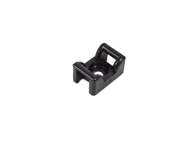 Cradle Clip - Black KR6G5 (Pack of 10)