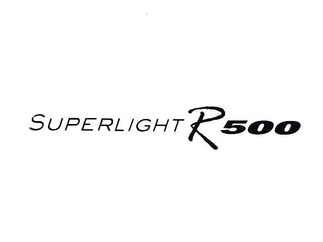 Decal - Bonnet - Superlight R500 - Black