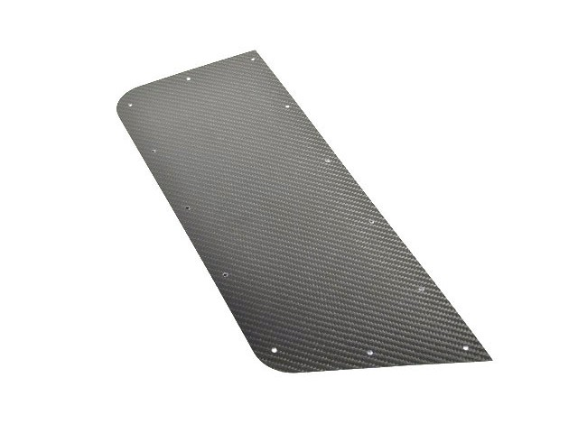 CARBON REAR WING PROTECTOR RH SEVEN 160
