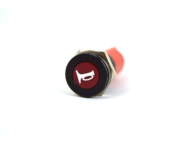 RED LED HORN SYMBOL