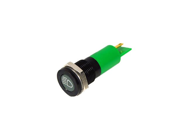 GREEN LED DIPPED BEAM