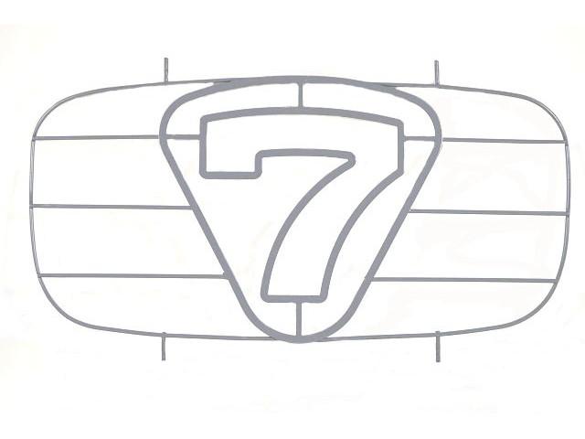 7 nose cone grille