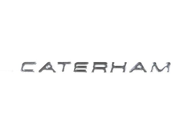 Badge - Rear Panel - Caterham Chrome 2012